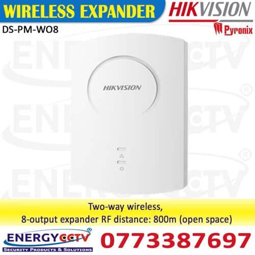 DS-PM-WO8-DS-PM-WO8 hikvision alarm wireless ex pander sri lanka sale