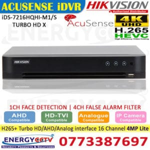 iDS-7216HQHI-M1-S-TURBO-HD-X sale sri lanka iDS-7216HQHI-M1-S-TURBO-HD-X