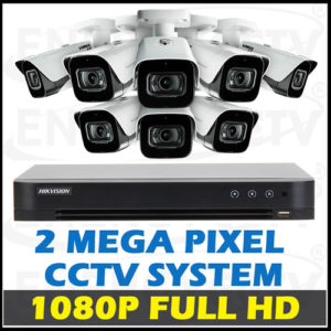 1080P Full HD CCTV Camera Package