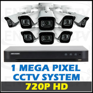 720P HD CCTV Camera Package