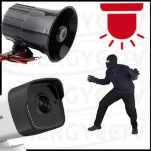 CCTV Package With Intruder Alarm system