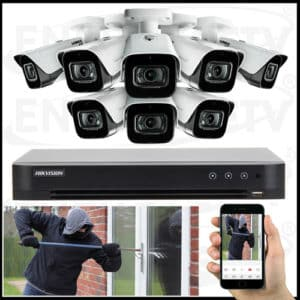 TURBO HD CCTV Camera Package With Installation
