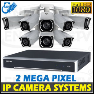 2MP Digital Video IP Camera System