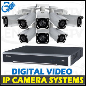 Digital IP Network Camera Packages