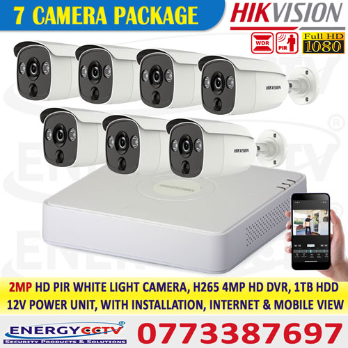2MP-HD-PIR-WHITE-LIGHT-7-CAMERA-PKG hikvision , motion detection in CCTV camera, security cameras detect motion, motion sensors have cameras, monitor CCTV on mobile,