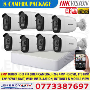 Security & Surveillance ,CCTV Camera, price in Sri Lanka, IP Security Cameras,Wifi 360 Rotatable, Outdoor CCTV, Camera PTZ / AUDIO / VIDEO 2MP,Hikvision 2MP, 8 ch DVR, package with 4MP, Playback, with Installation,Wireless , Camera Motion Activated, HD Security Camera