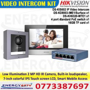 DS-KIS602-IP-Video-Intercom
